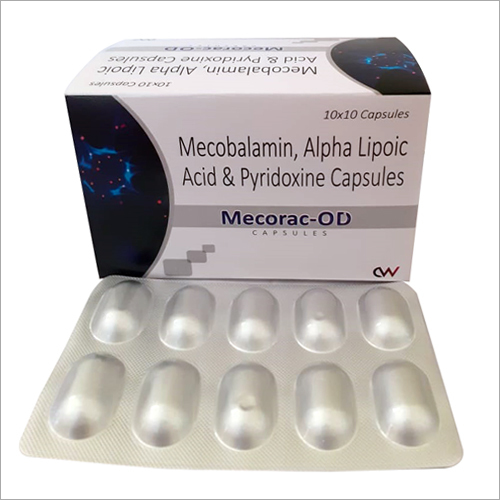 Methylcobalamin Alpha Lipoic Acid And Pyridoxine Capsules