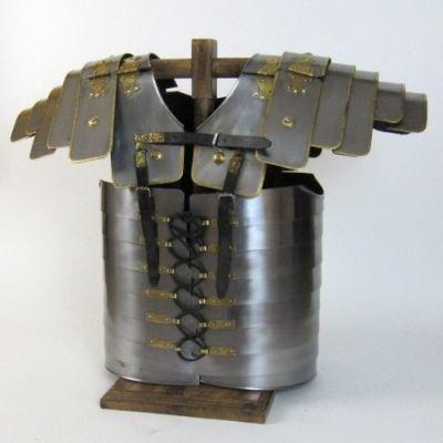 Iron Brass Lorica Segmenta Armor