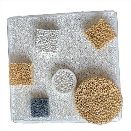 Porous Foam Ceramic Filter