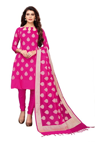 Heavy Party Wear Banarasi Suit