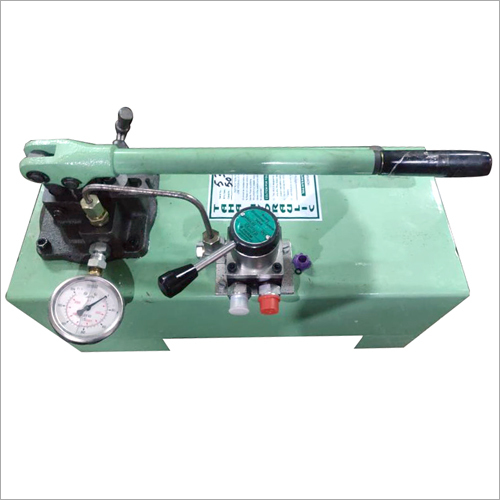 Hydraulic Double Acting Hand Pump