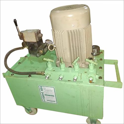 液压动力机组为操作4个数字水力插座