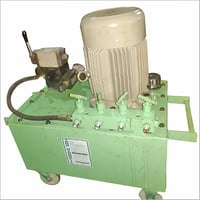 Hydraulic Power Pack For Operating 4 Numbers Hydraulic Jack