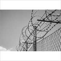 Curved Barbed Wire