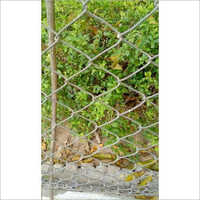 Galvanized Steel Chain Link Fence