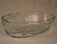Cutting Glass Antique Bowl