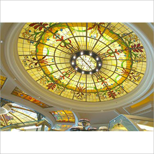 Leaded Stained Glass Skylight Service