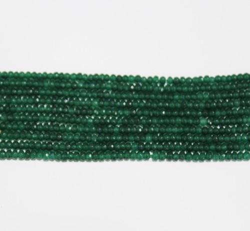 embrald green jade quartz semi precious stone