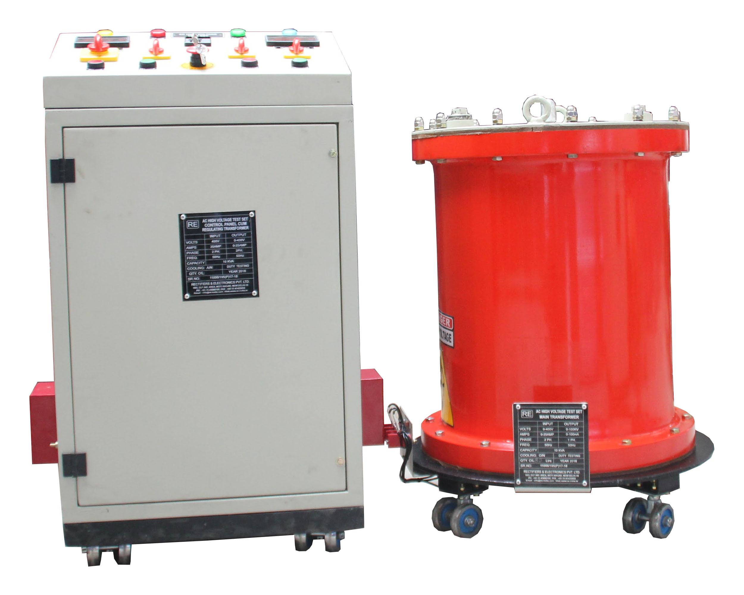 AC High Voltage Test Set
