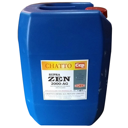 20 Ltr Salt Bright Zinc Plating Chemical
