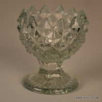 Ice Cup Shape Crystal Candle Holder