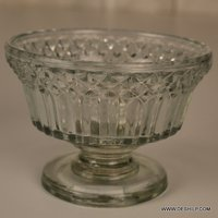 Cup Shape Glass Candle Holder
