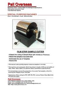 Film Strip Sample Cutter