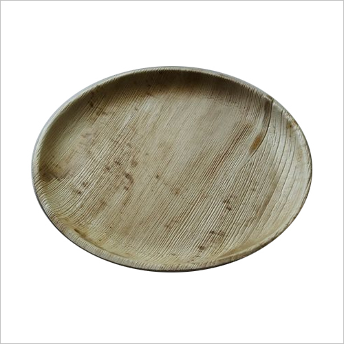 Areca Leaf Plate / Round / 10 inch / Shallow