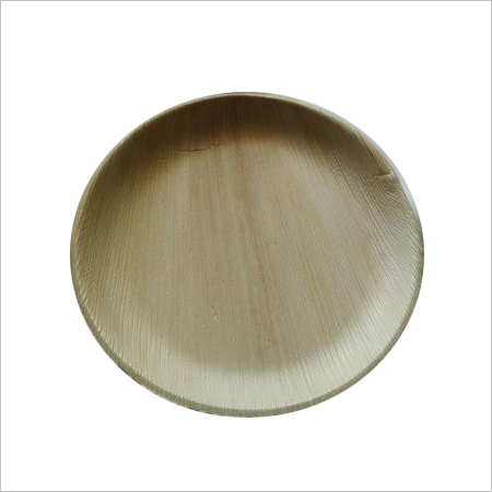 Areca Leaf Plate / Round / 8 inch / Shallow