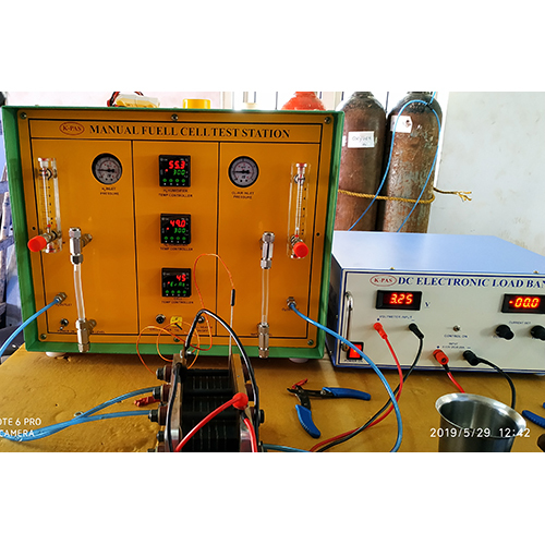 Manual Fuel Cell Test Station with Electronic Load Bank