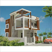 Luxury Bungalow Exterior Designing Services