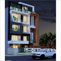 Modern Bungalow House Exterior Designing Services
