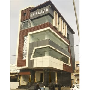 Shopping Complex Exterior Designing Services