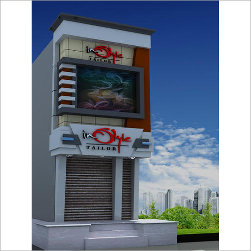 Shop Exterior Decoration Service