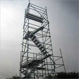 Scaffolding Staircase Tower