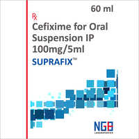 60 ML Cefixime Oral Suspension IP