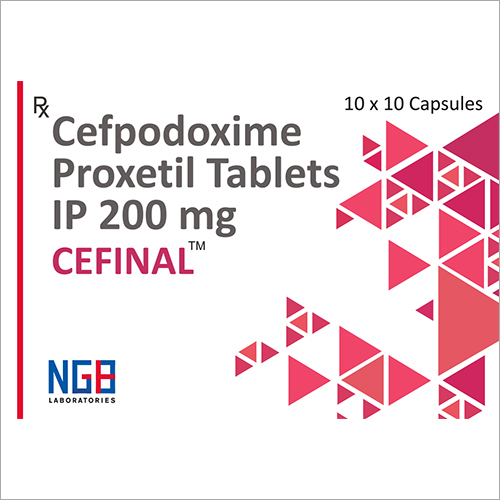 200 MG Cefpodoxime Proxetil Tablets