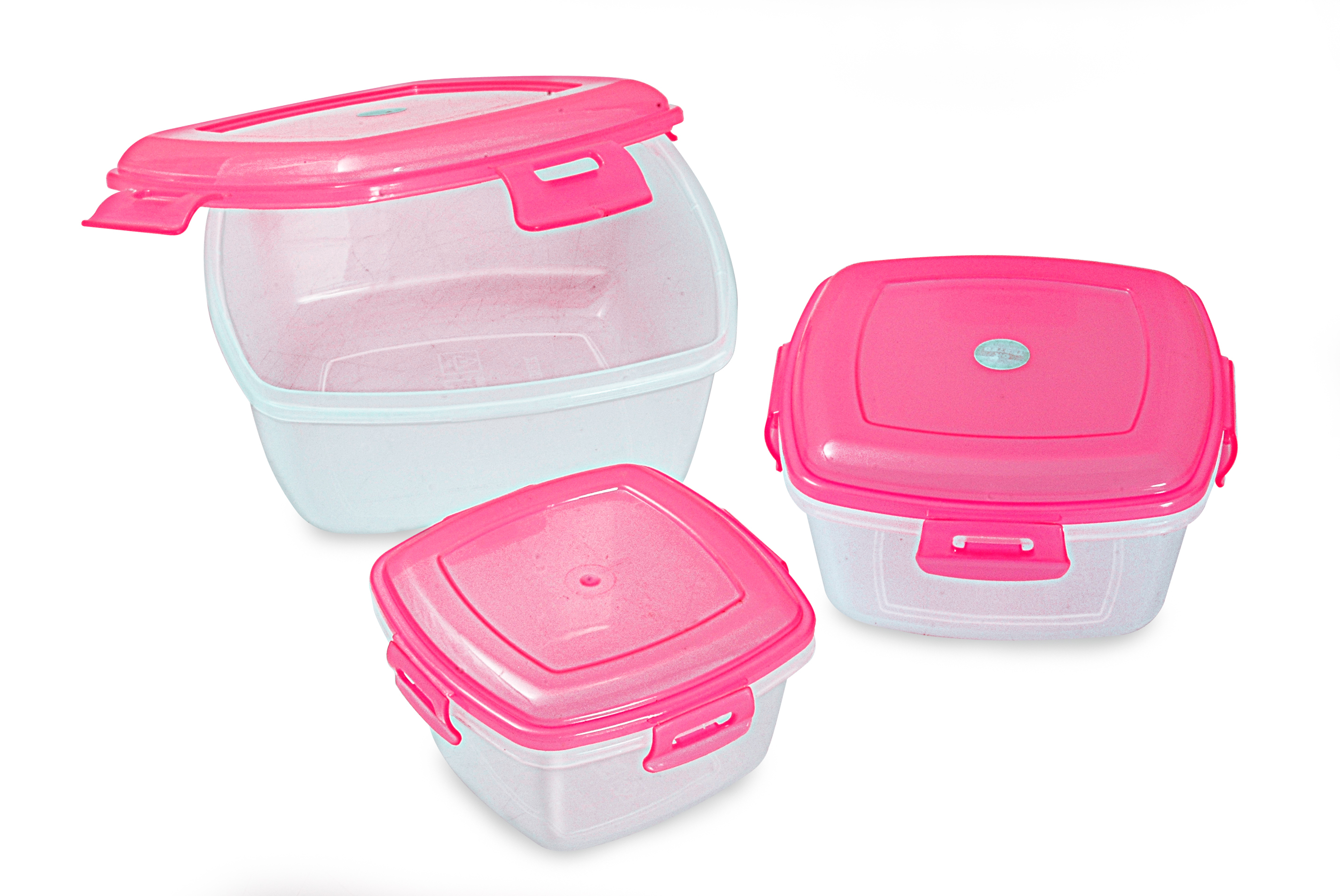 Tic Tac 3 pcs Set Lunch Box