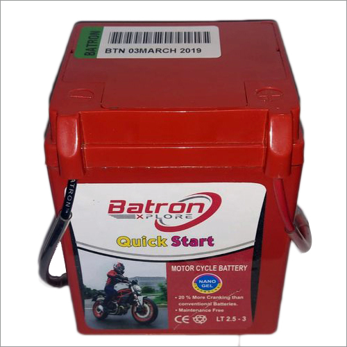 2.5 LB Hero Honda Battery