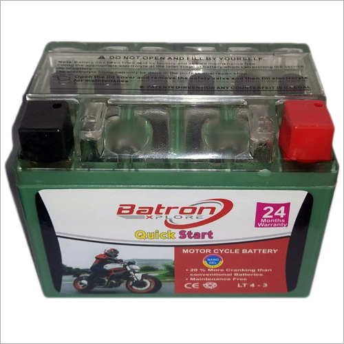 4 LB Gel Maintenance Free Battery