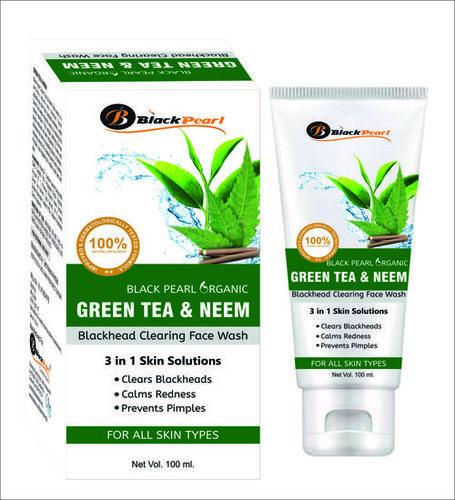 GREEN TEA & NEEM FACE WASH