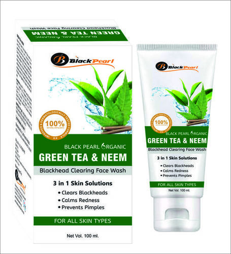 GREEN TEA & NEEM FACE WASH
