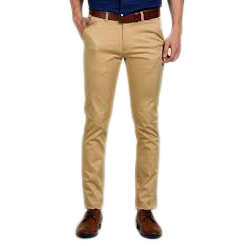 Mens Cotton Casual Pant