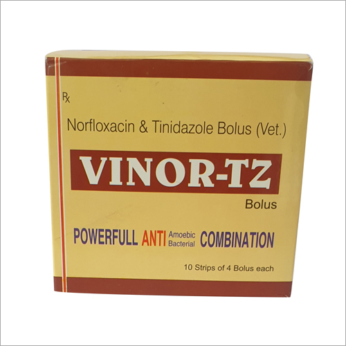 Norfloxacin and Tinidazole Bolus Strip