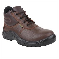Brown High Ankle Safety Boot