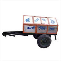 Steel Body Covered Dumper Trailer