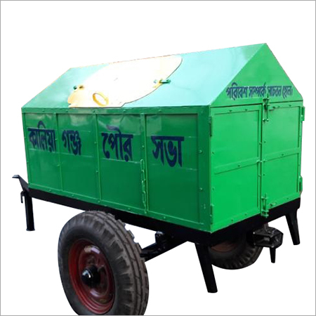 Two Wheeler Packed Dumper Trailer