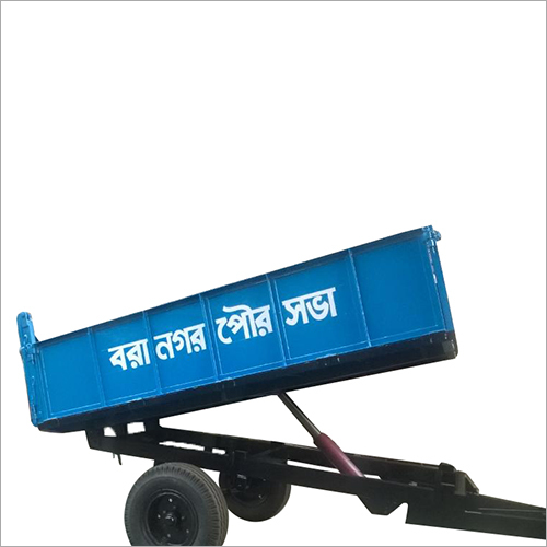 Open Hydraulic Garbage Dumper Trailer