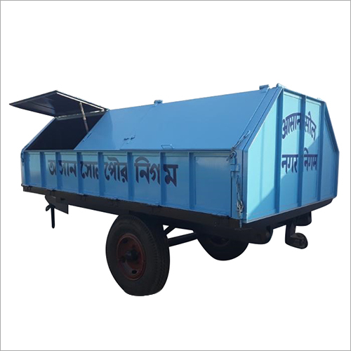 4 Ton Capacity  Covered Hydraulic Dumper  Trailer