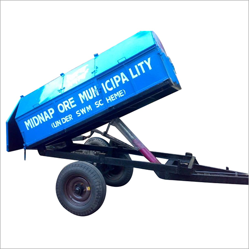 Covered Hydraulic Dumper Trailer