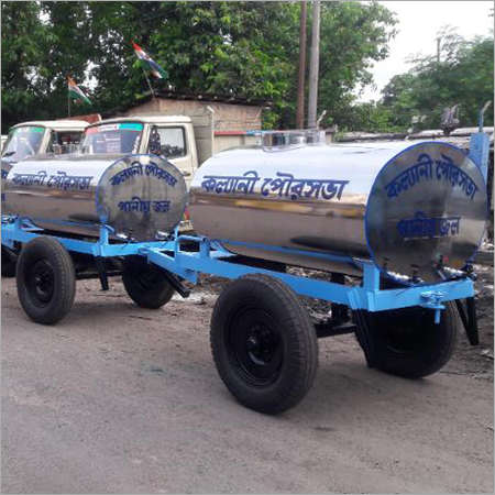 1500 Liter Two Wheeler  Water Tanker Trailer
