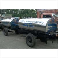 2500 Liter SS  Water Tanker Trailer