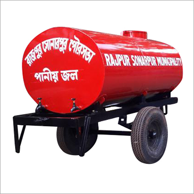 2250 Liter MS Water Tanker Trailer