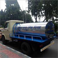 3500 Ltr  SS Water Tanker Trailer