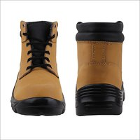 Brown Safety Boot