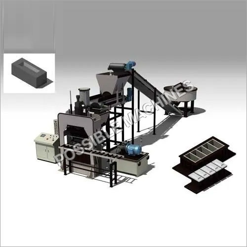 PM40 Fly Ash Brick Making Machine