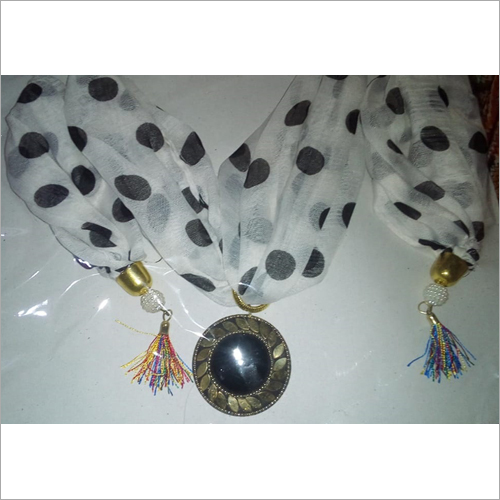 Ladies Dotted Scarf