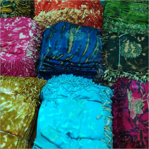 Ladies Cotton Tie Dye Stole