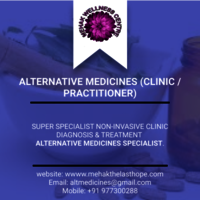 ALTERNATIVE MEDICINES (CLINIC / PRACTITIONER)