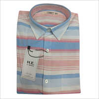Mens Colored Striped Shirt